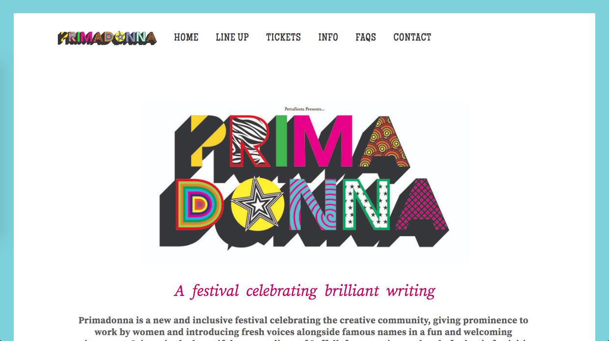 PRIMADONNAFESTIVAL.COM - Independent Arts/Literature Festival