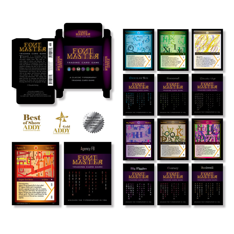 Font Master Trading Card Game
