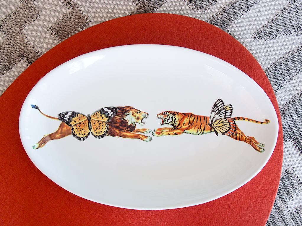 Piatto ovale   Oval Platter