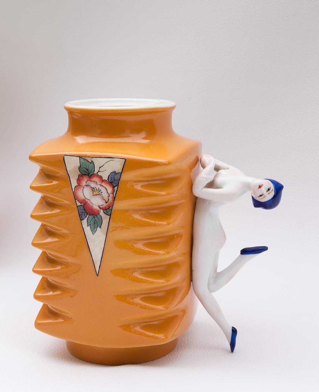 TRIANGOLO | TRIANGLE  3D collage, small vase