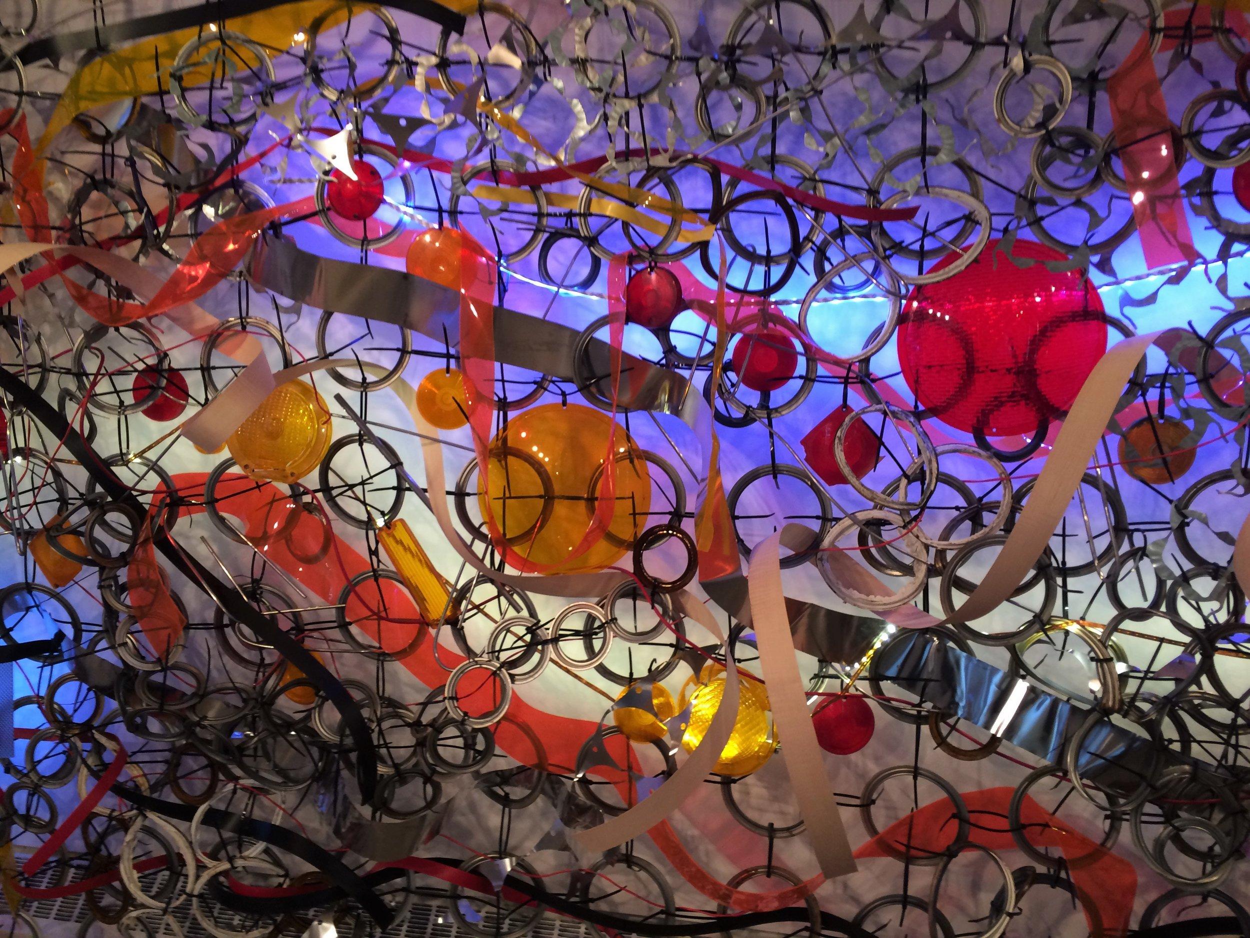 116 Gallery Slivinski detail of - Lightning Field.JPG