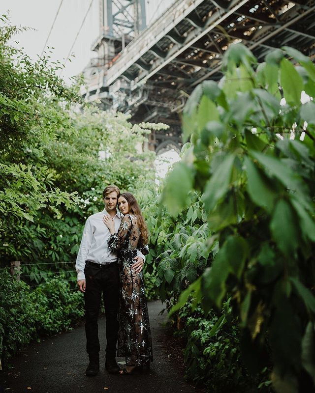 We have so many amazing looks for your engagement shoot! Stop by today or click the link in our profile to shop online! 📸: @bridgetburnettweddings @bridgetrburnett
