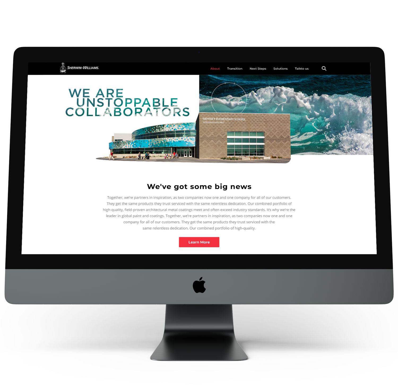 Digital marketing agency Minneapolis, Valspar/Sherwin Williams client portfolio