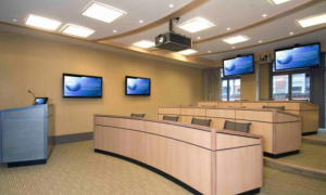 Classrooms & training rooms -