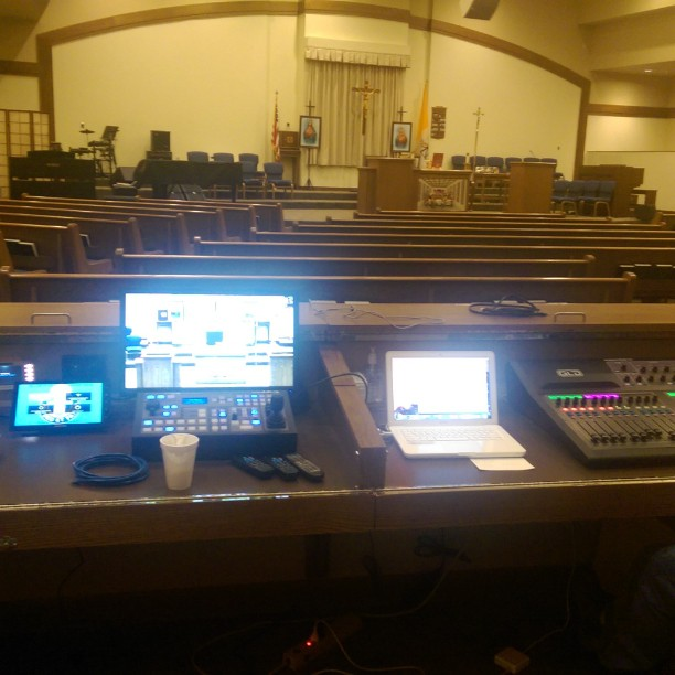Setting up the system for worship practice