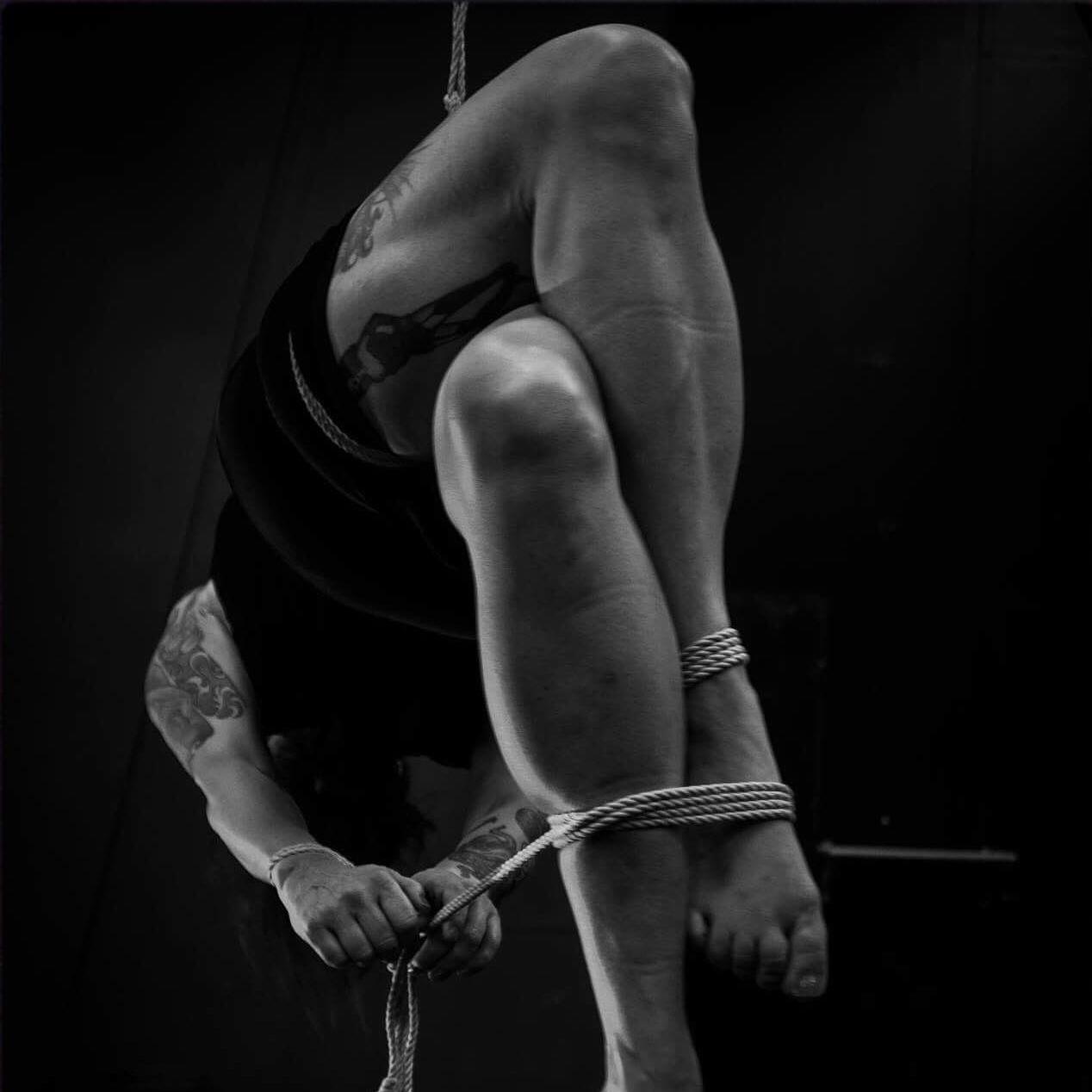 Dekadamen - Stockholm, SwedenModelling // Performance // Artistic WorkPhotographyemail // fetlife // darkside // insta // facebookropework: KawayamaTenphoto: Cato Leinmodelling: Dekadamen