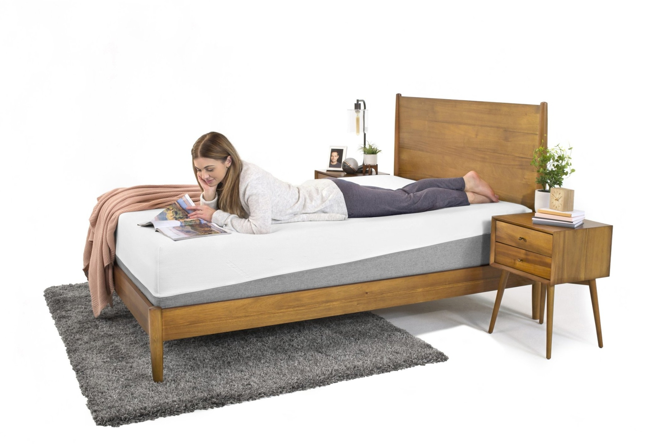 The Frankly Memory Foam Mattress is recommended by Marc Anderson, A bedding industry CEO with 25 years of mattress engineering experience.