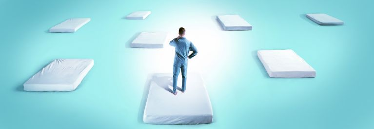 Mattress shopping is literally like walking through a maze designed to completely confuse you- and that- is precisely the strategy that BIG MATTRESS, INC. uses to wear you down.