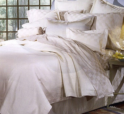 Too much? Maybe not, says sleep expert Marc Anderson about sumptuous bedding.