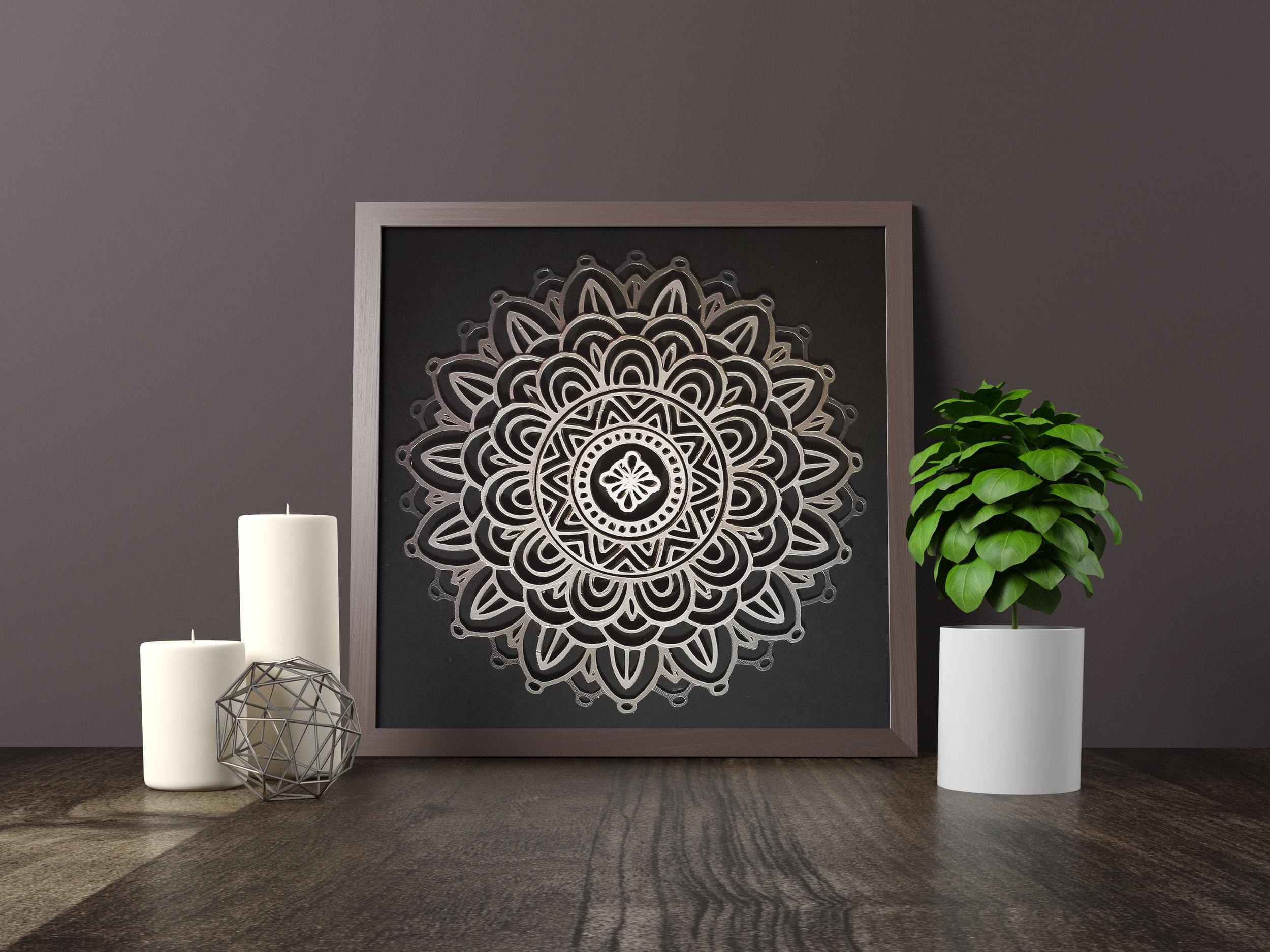 Zen ManDala - Original artwork *SALE PENDING*12