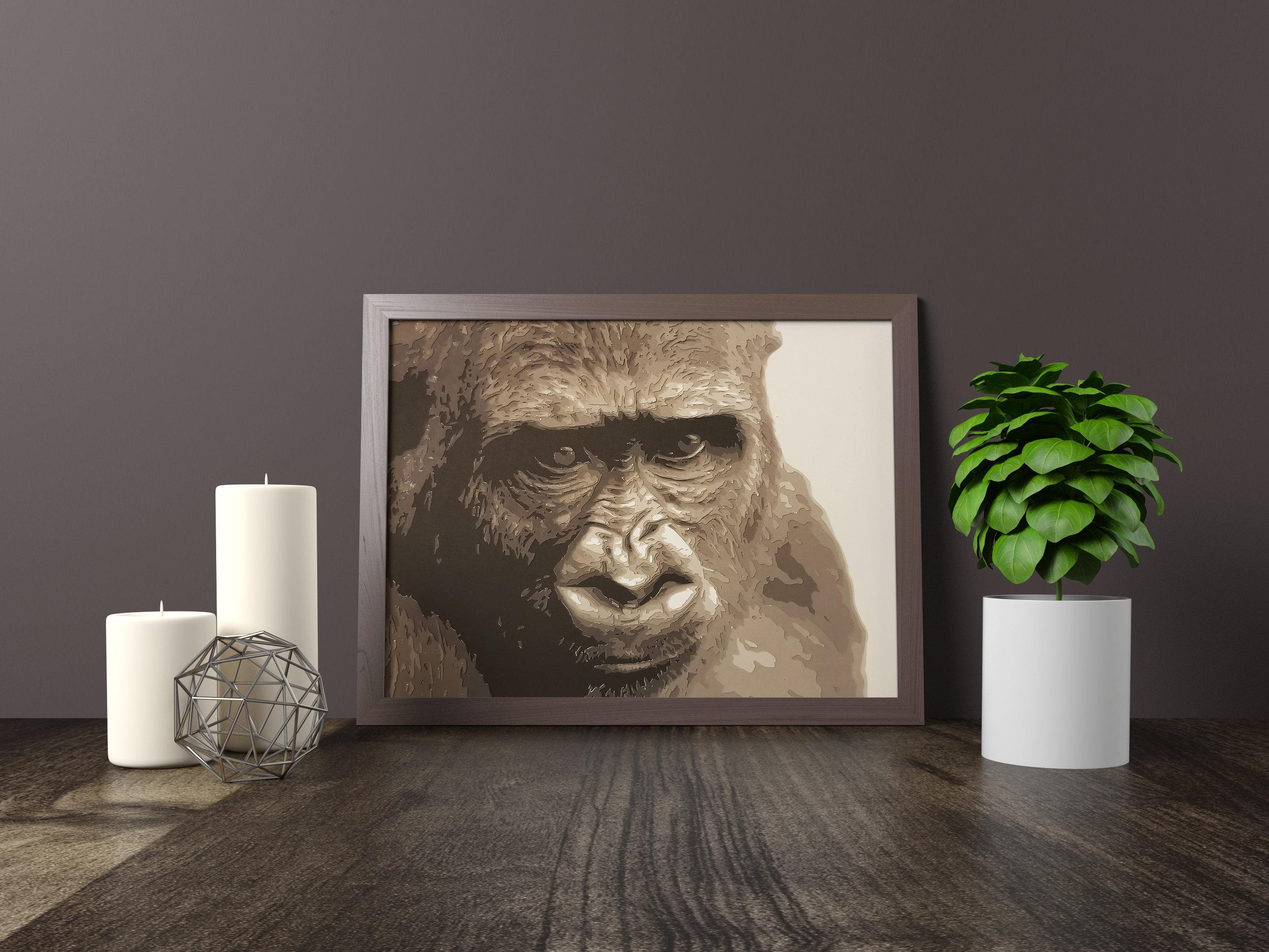 Gorilla - Original *SOLD*11