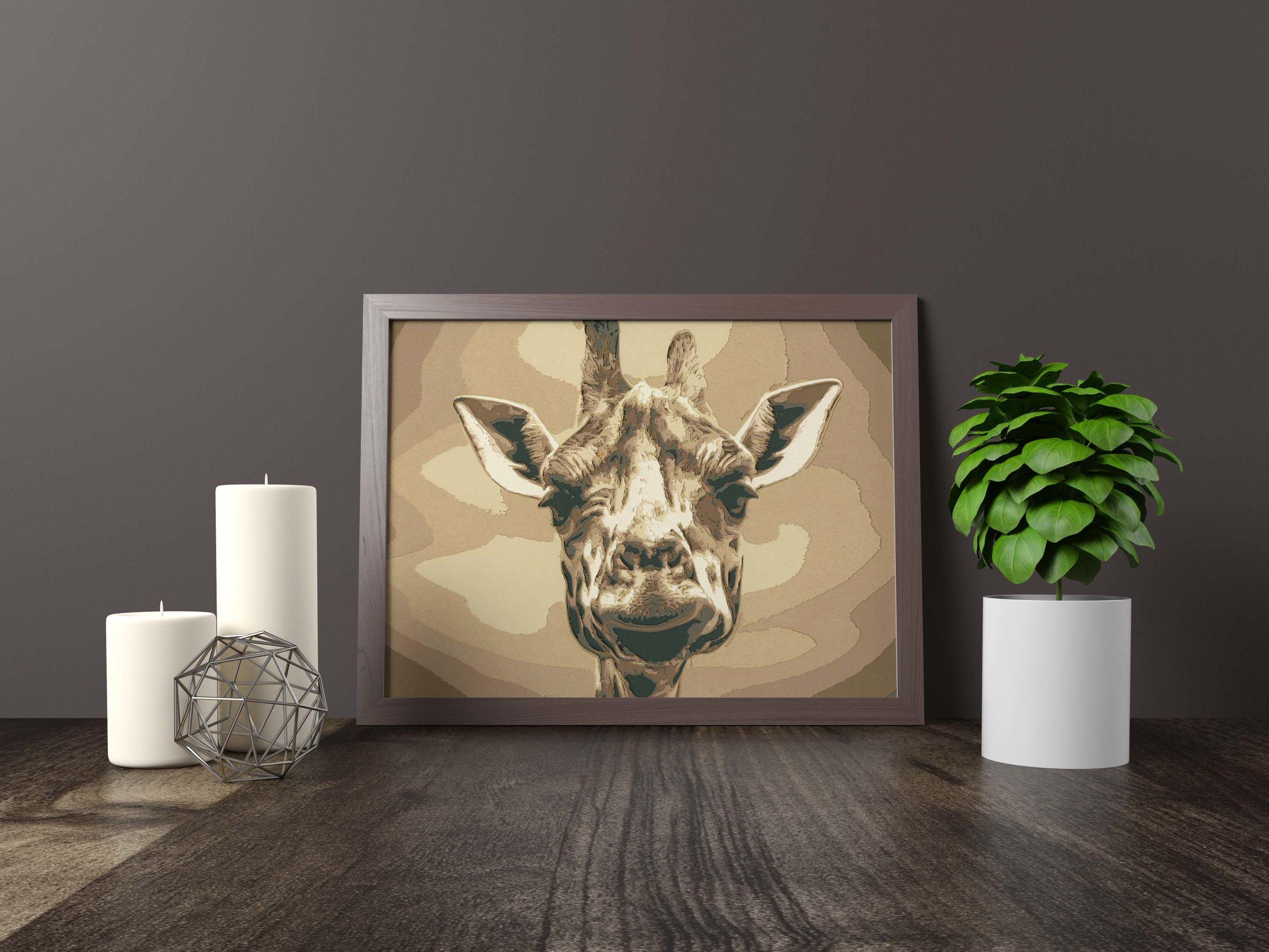 Stand tall giraffe - Original artwork *FOR SALE* 11