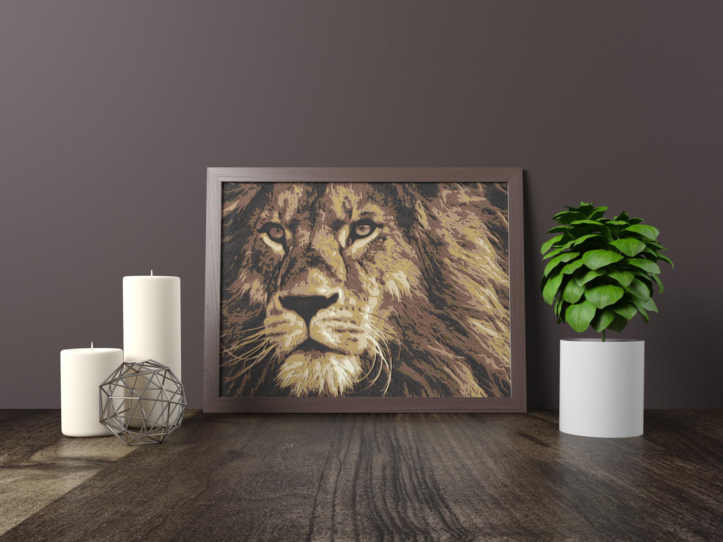lion - Original *SOLD*11