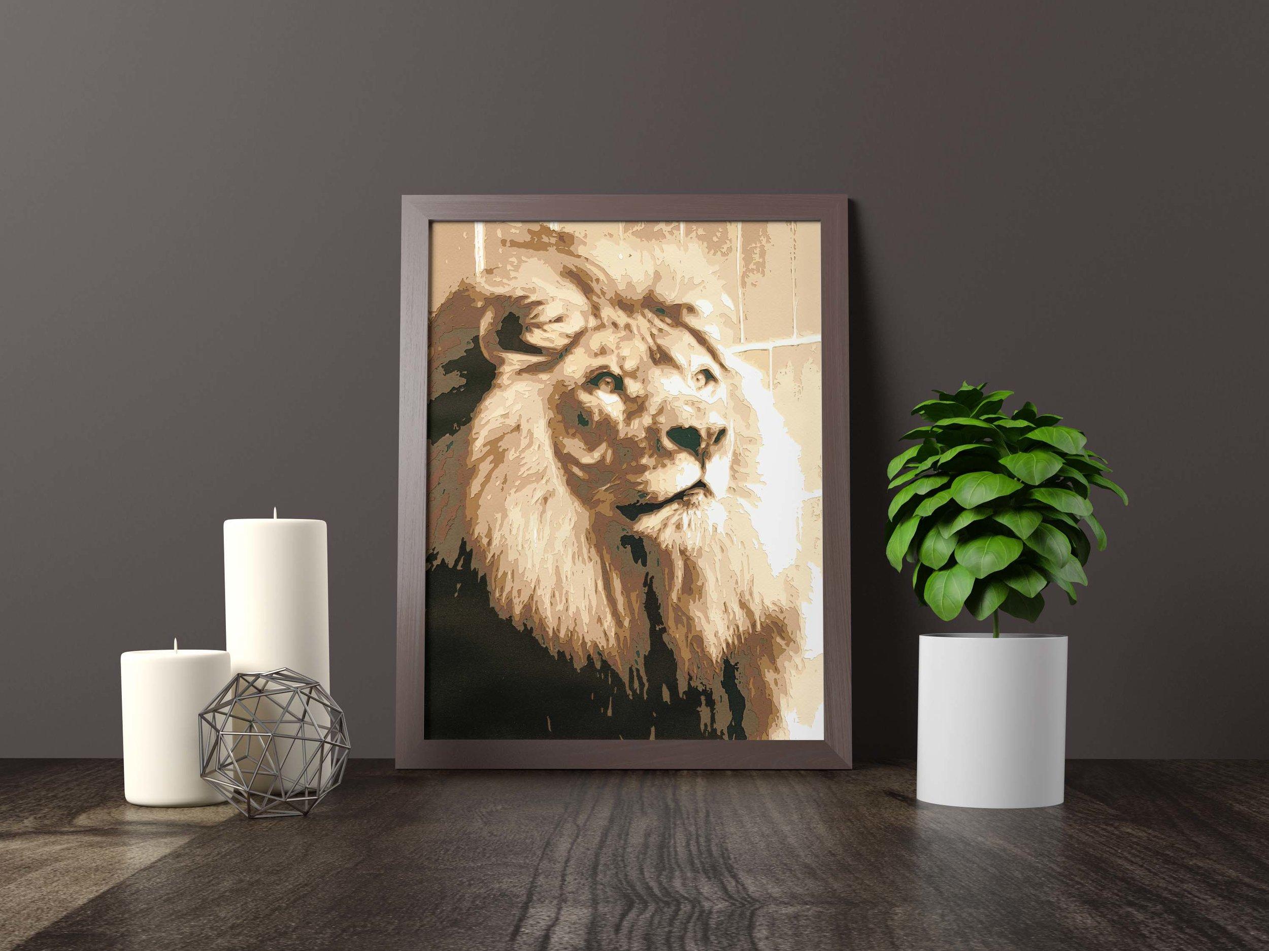 lion - mr. big - Private Commission *SOLD*11