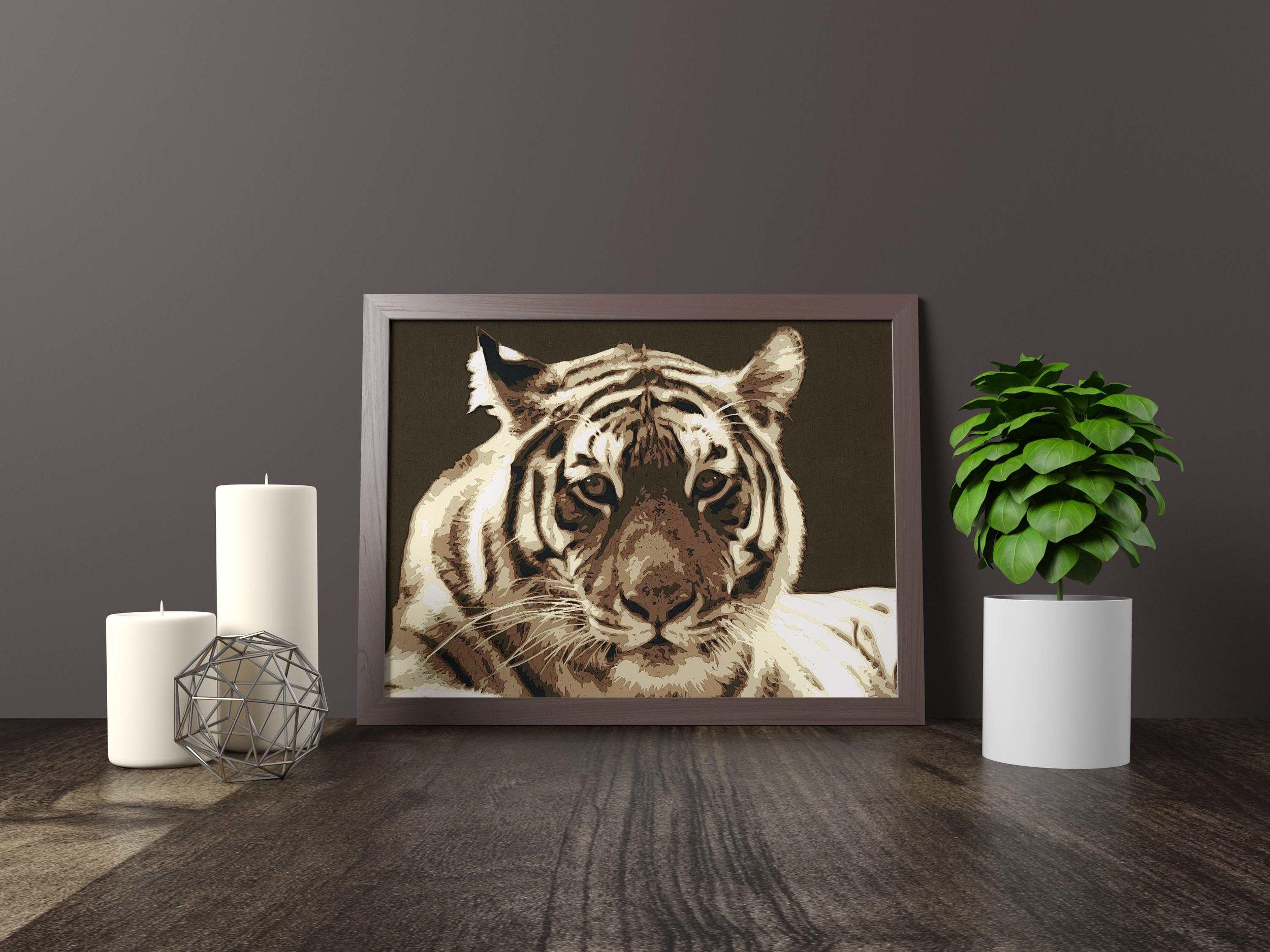 tiger - Original *SOLD*11