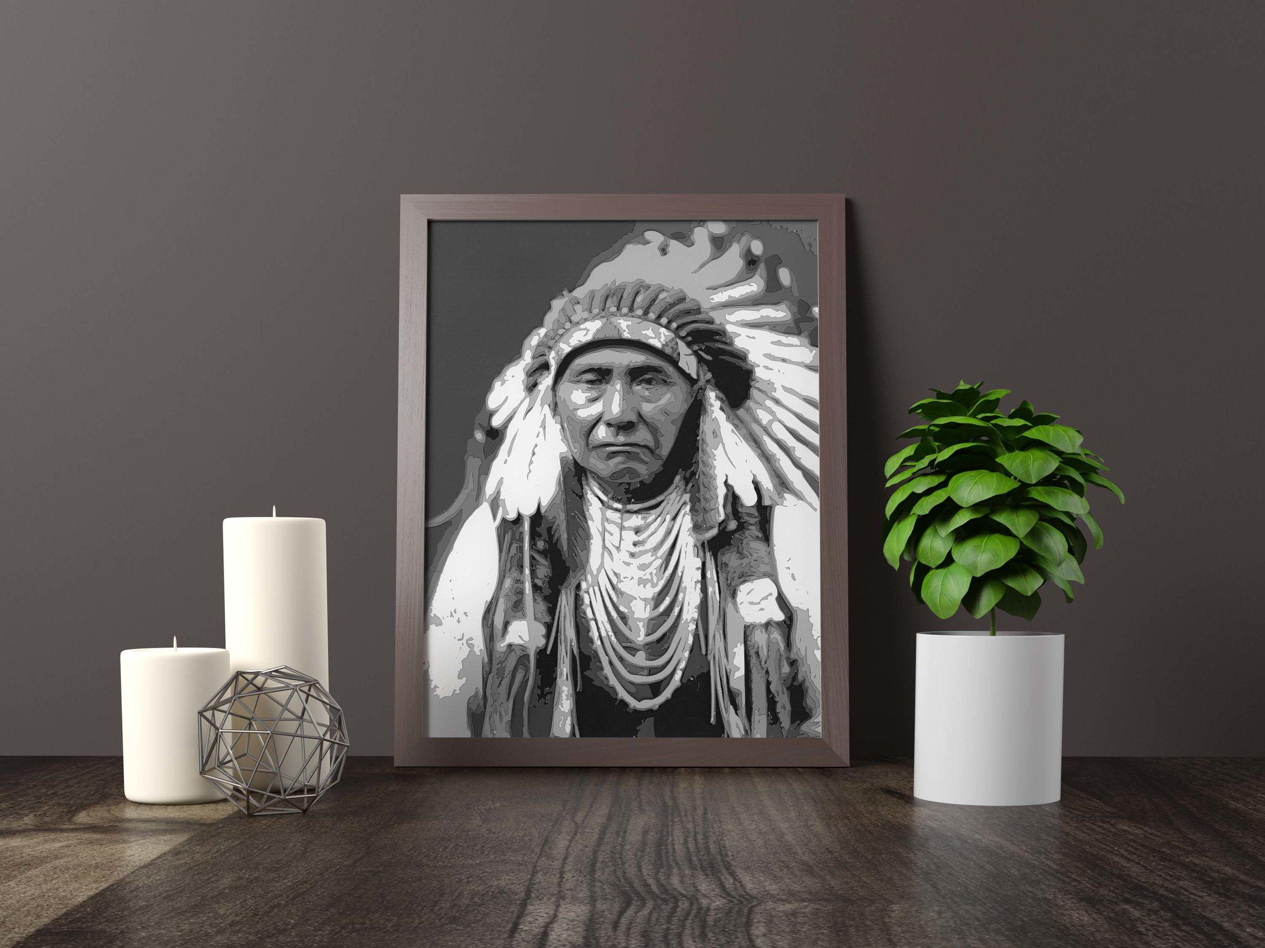 chief joseph - Original *SOLD*11