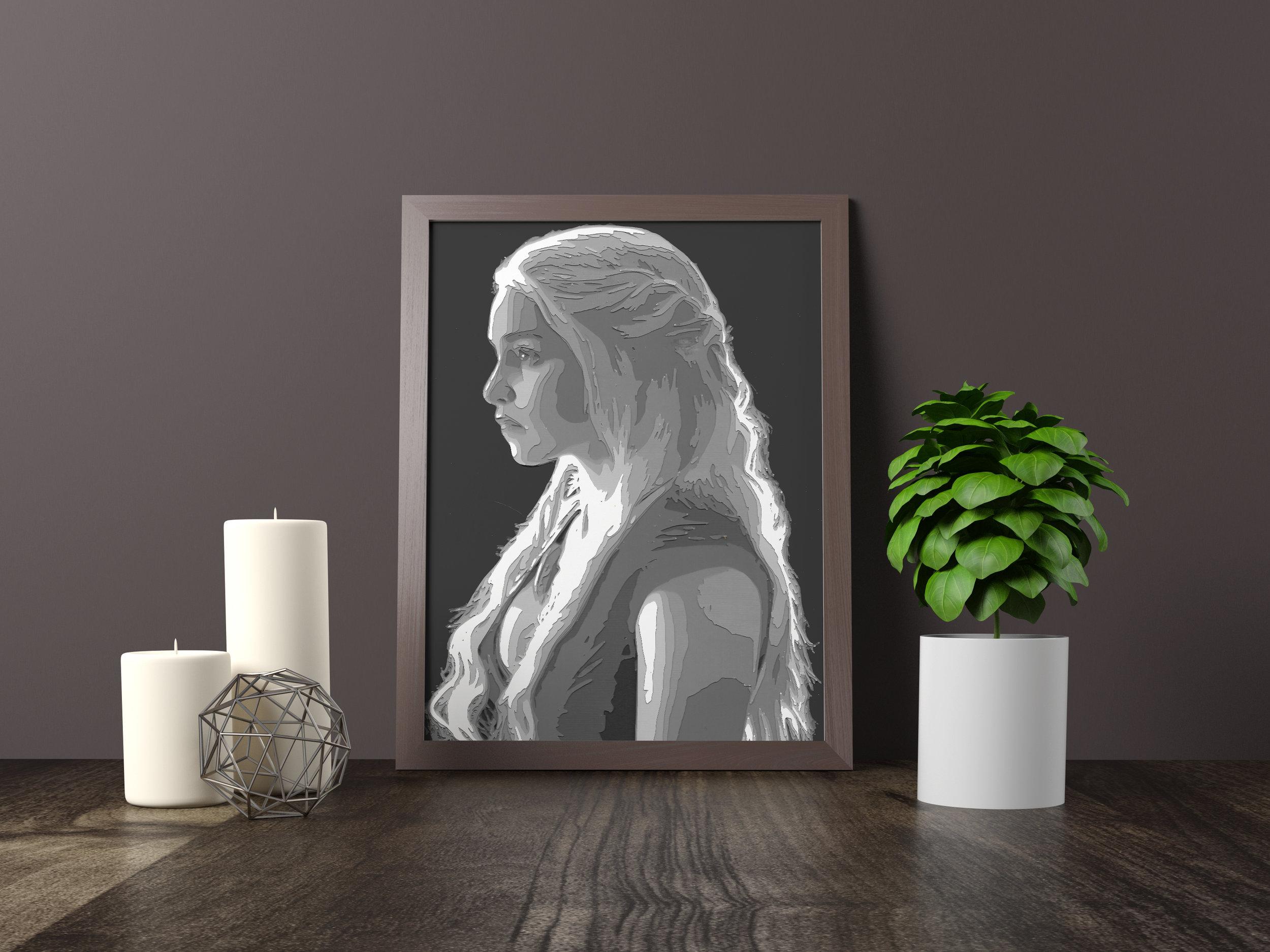 mother of dragons - Original *SOLD*11