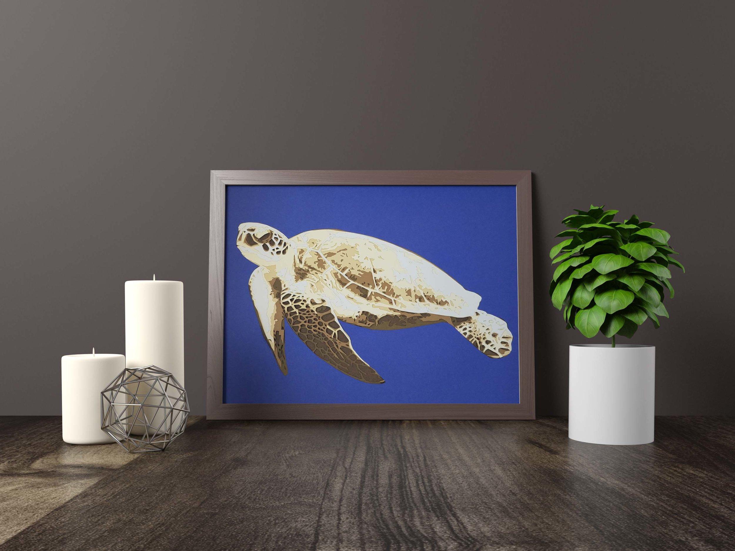 Turtle - Original *SOLD*11