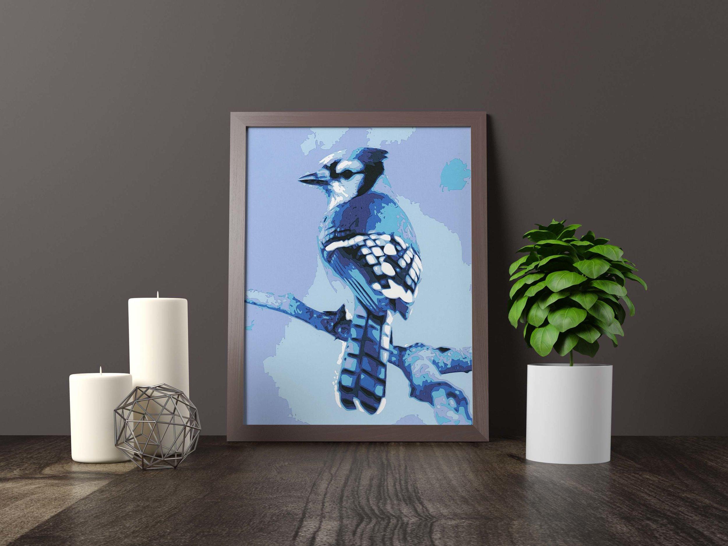 Blue Jay - Original *FOR SALE*11