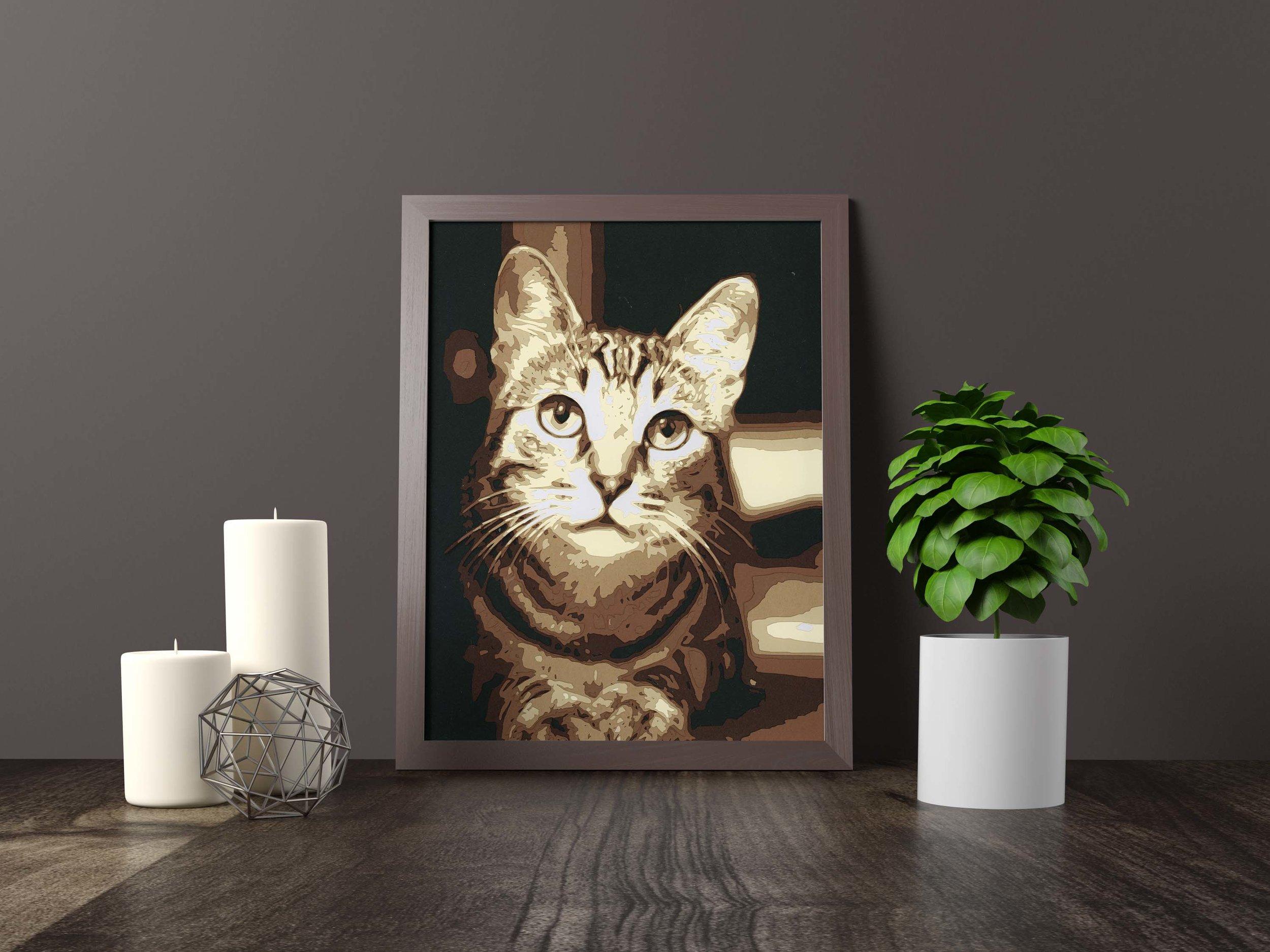 the cat's meow - Original Artwork *FOR SALE* 11