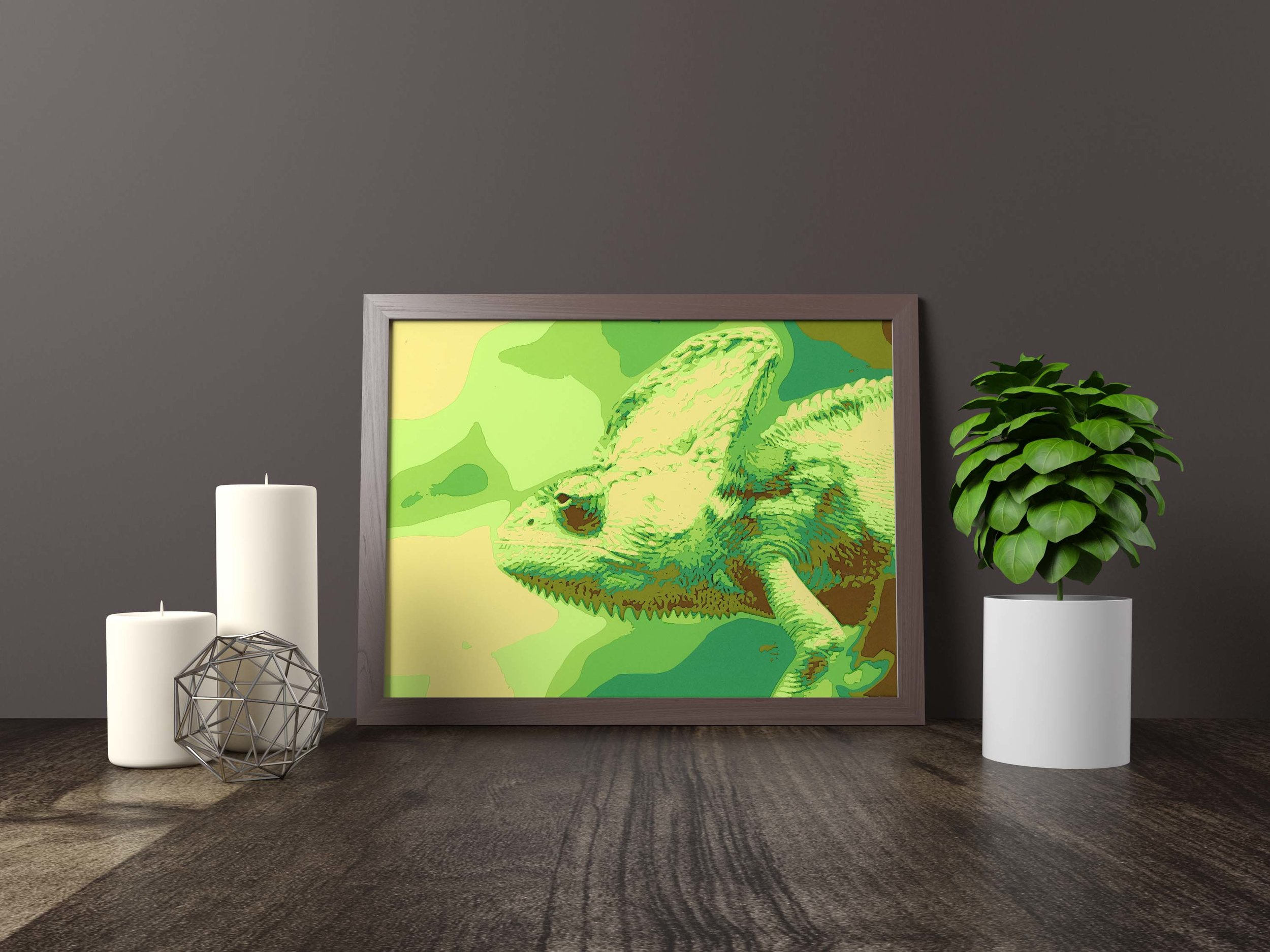 the chameleon - Original Artwork *FOR SALE* 11