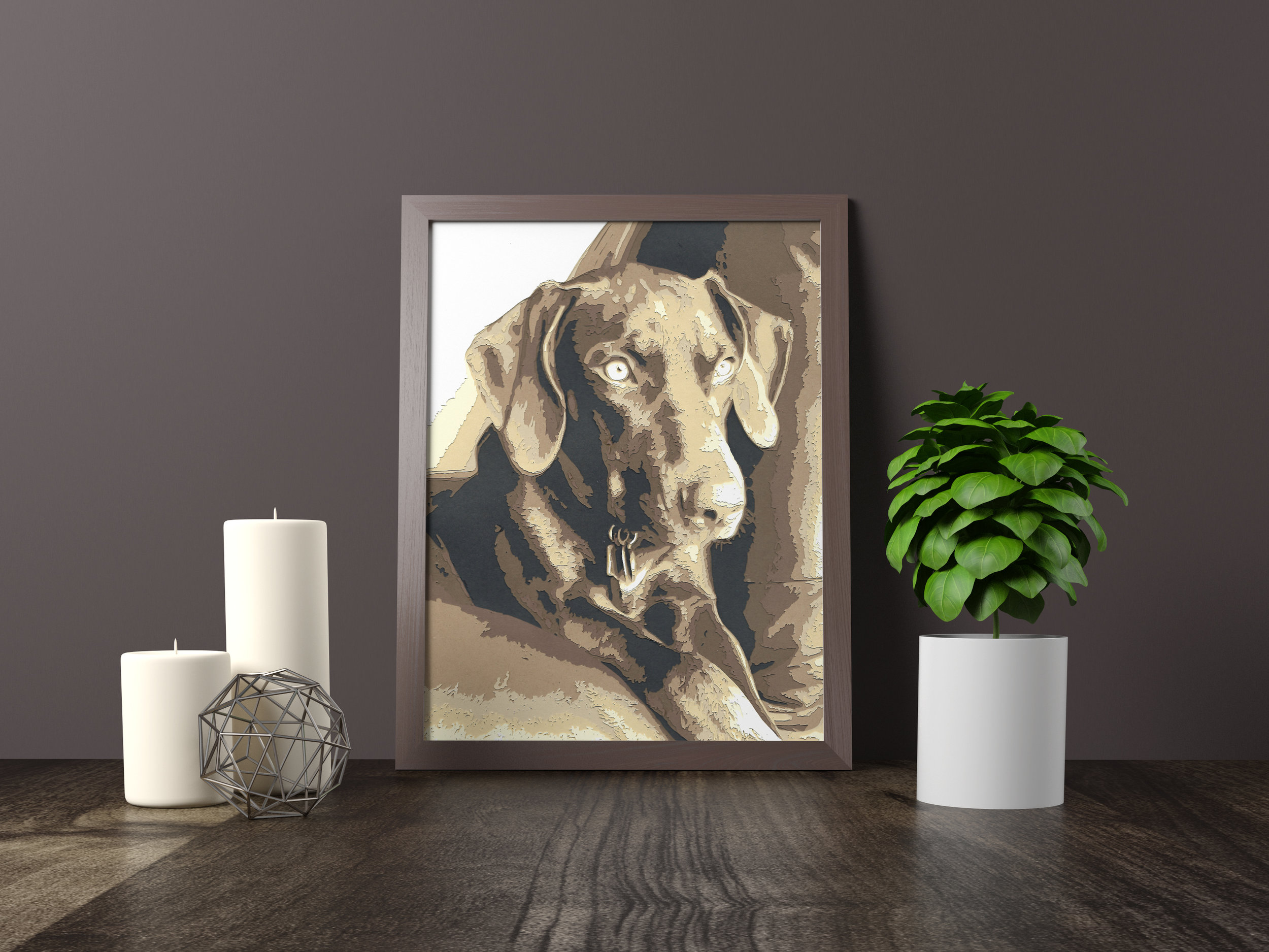 zoey - Catahoula Cur - Private Commission *SOLD* 11