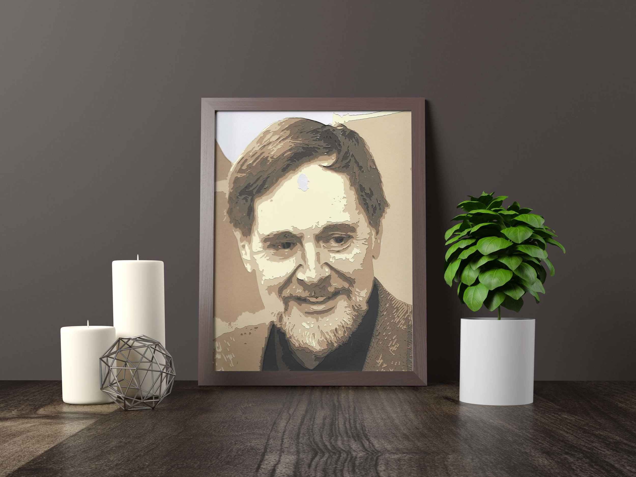 memorial portrait - Private Commission *SOLD* 11