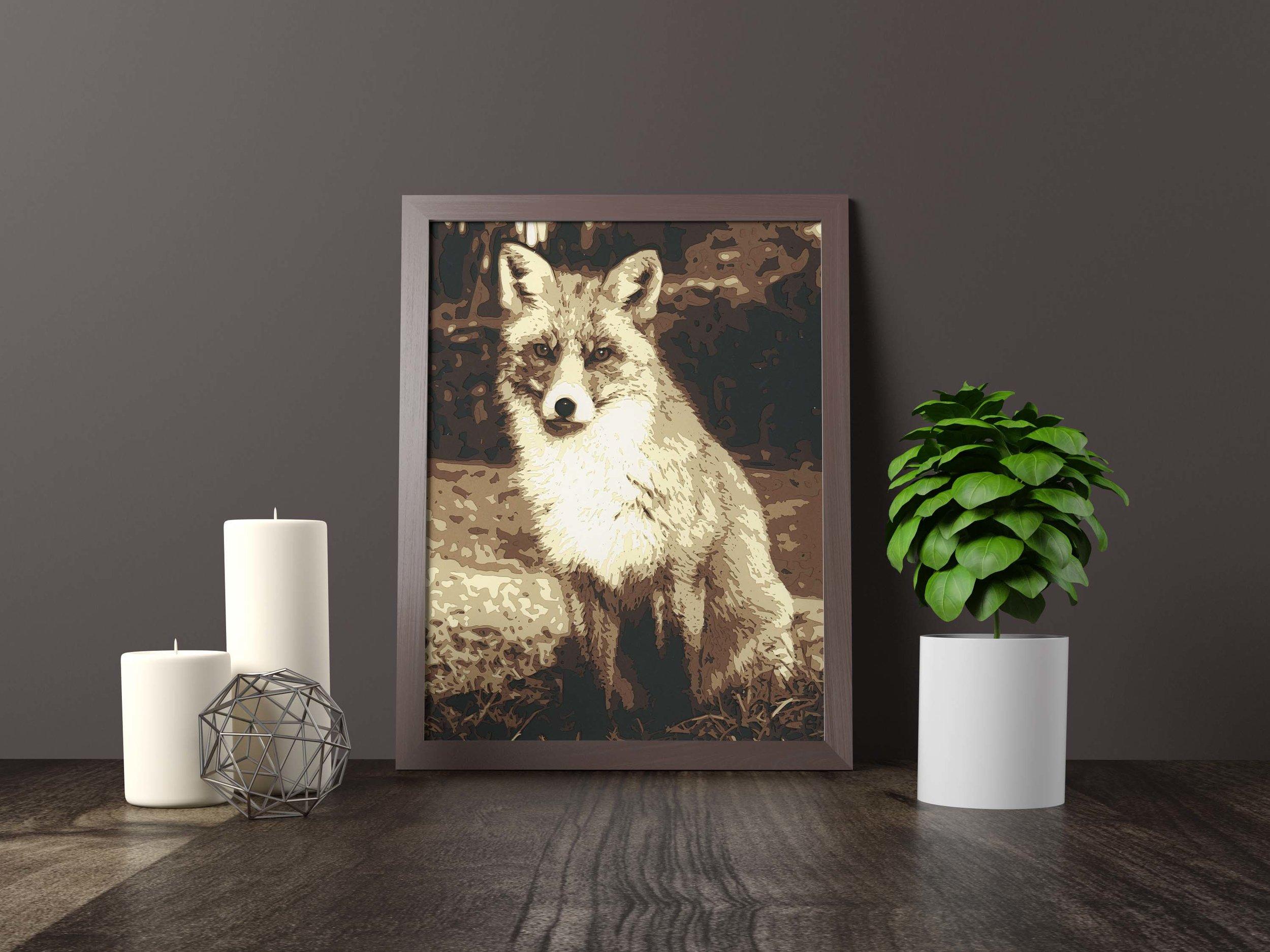 Fox - Original Artwork *FOR SALE* 11