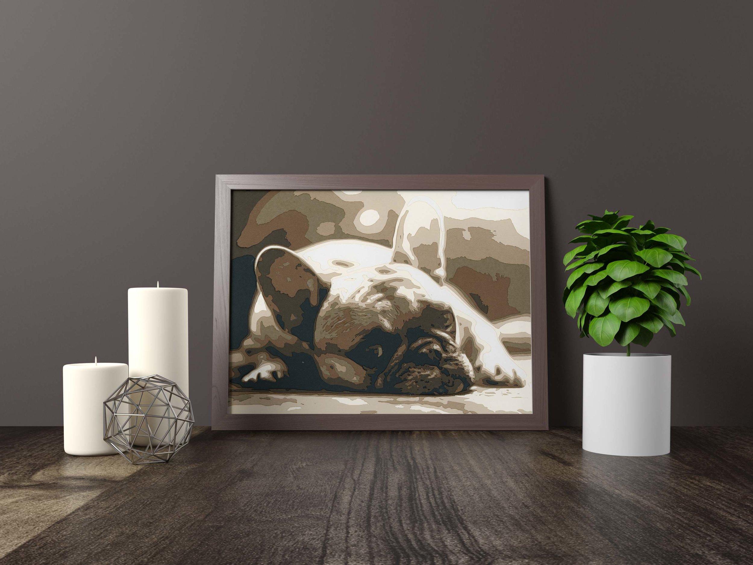 frenchie - french bulldog - Original Artwork *FOR SALE* 11