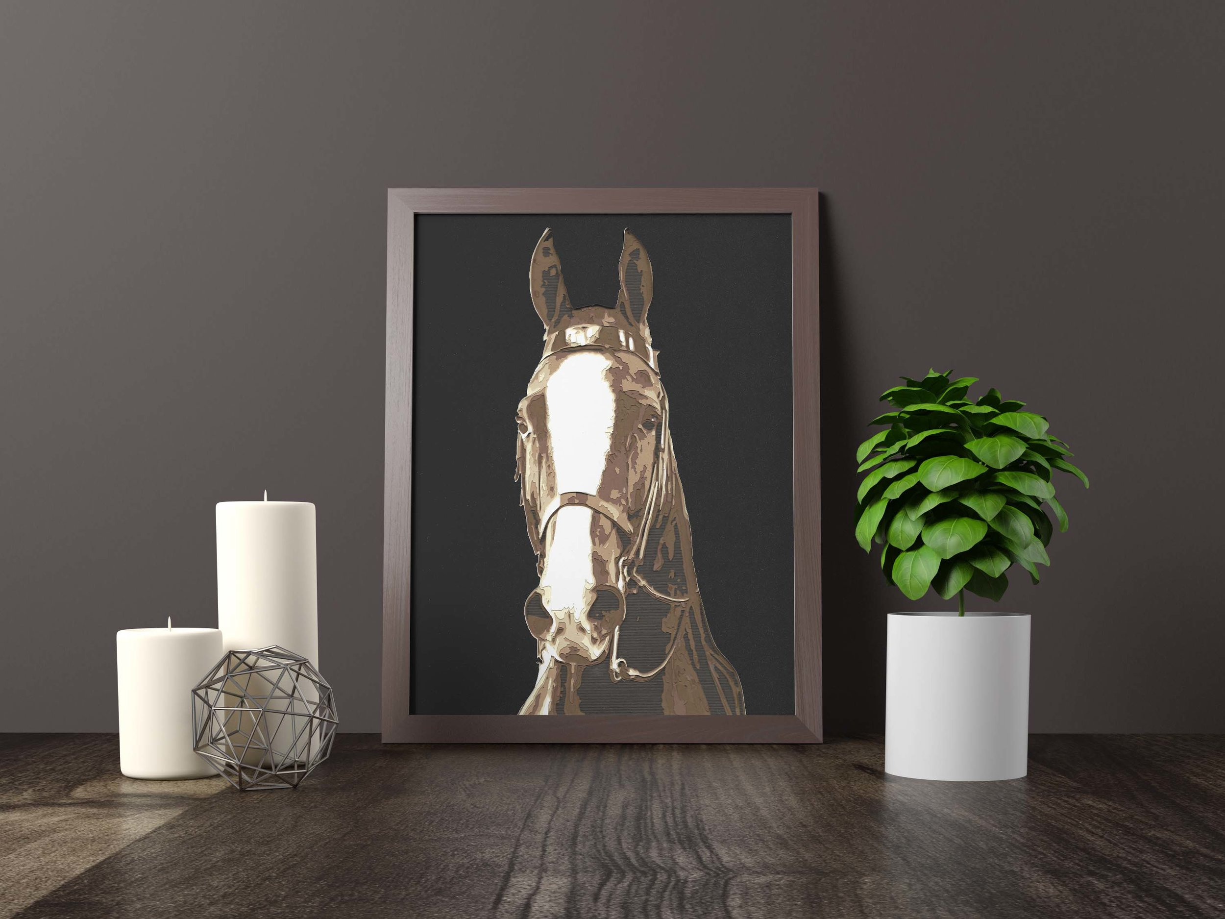 TENNESSEE walking horse - Private Commission *SOLD* 11