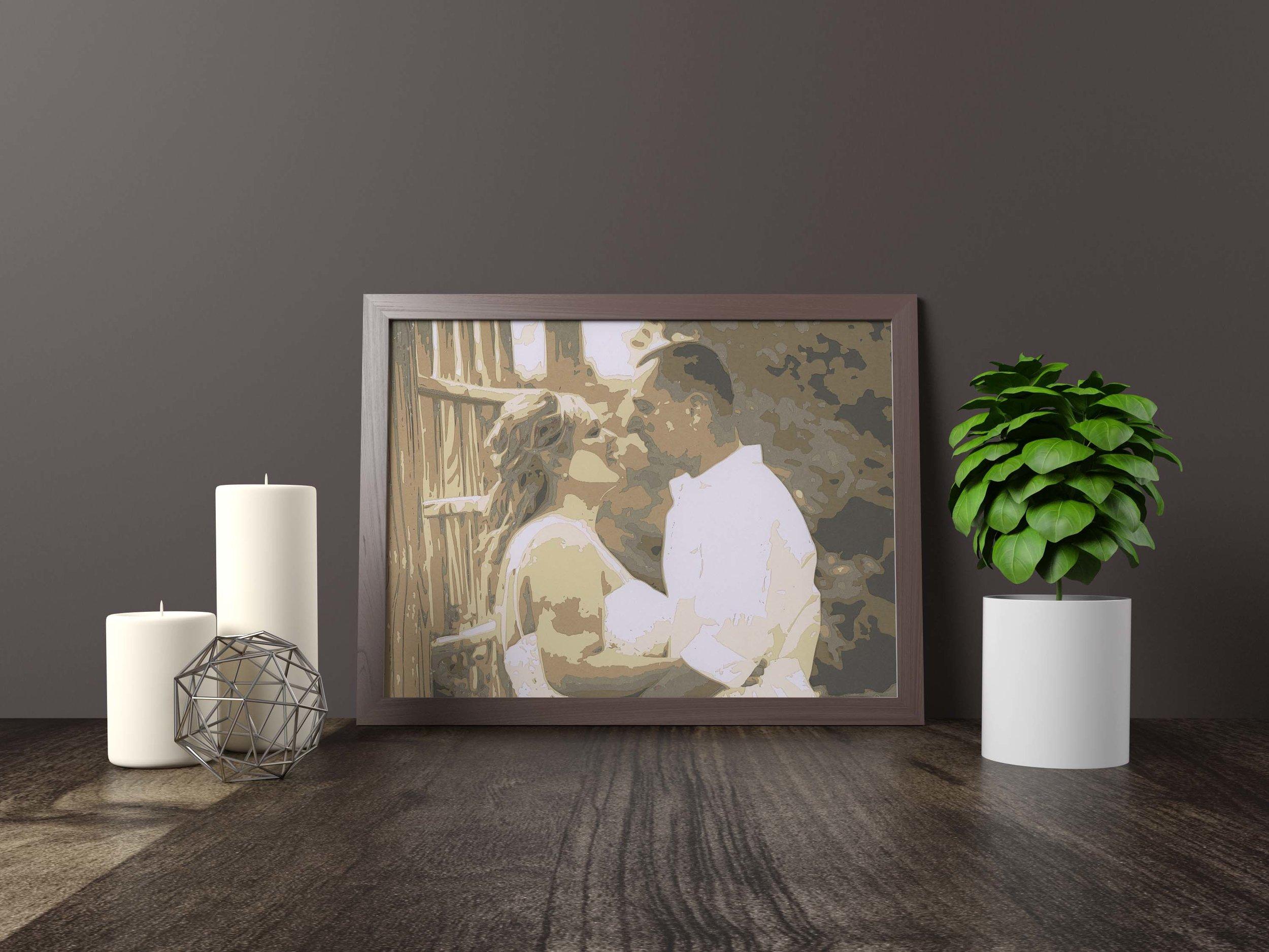 wedding portrait - Private Commission *SOLD* 11