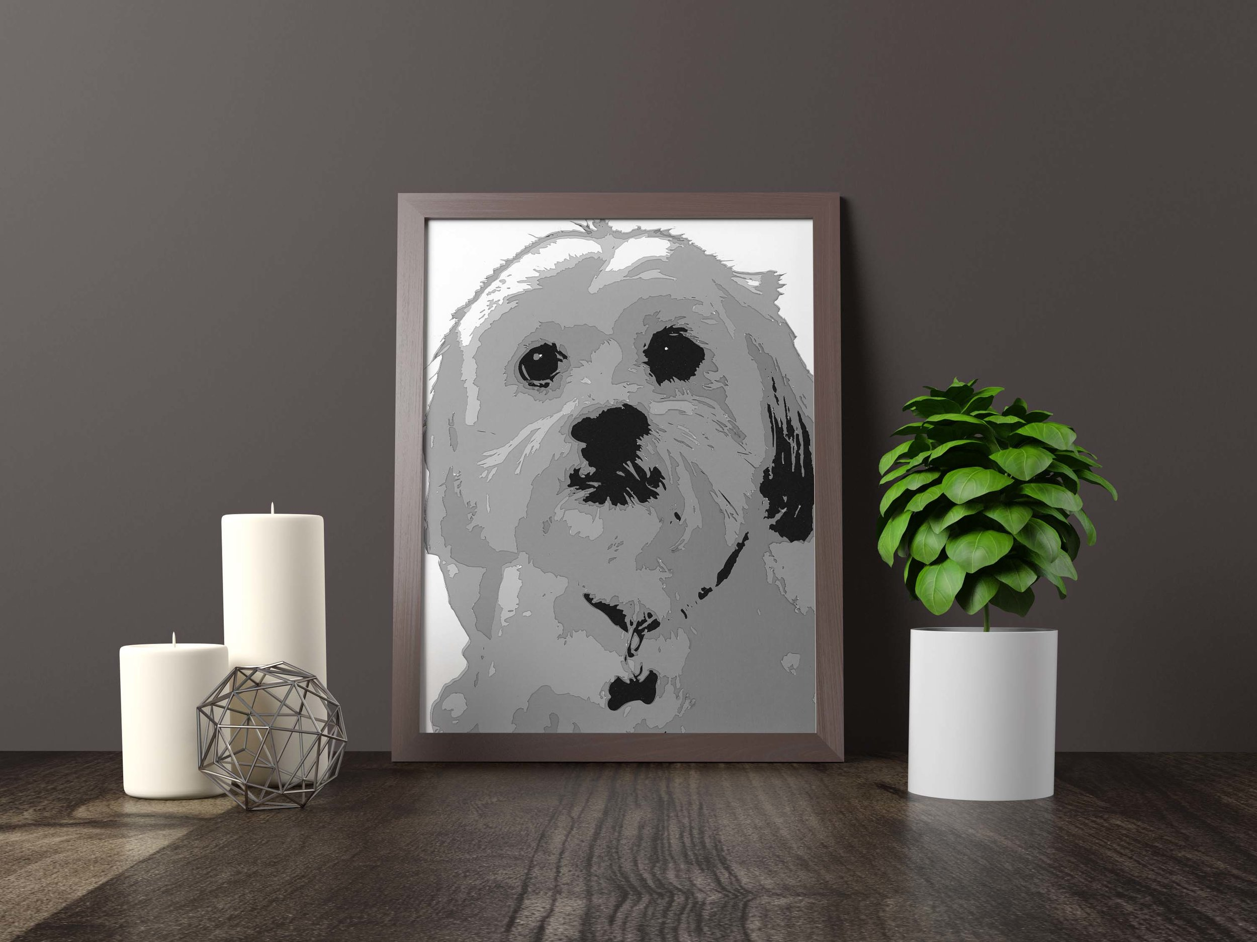 Maltese terrier - Private Commission *SOLD* 11