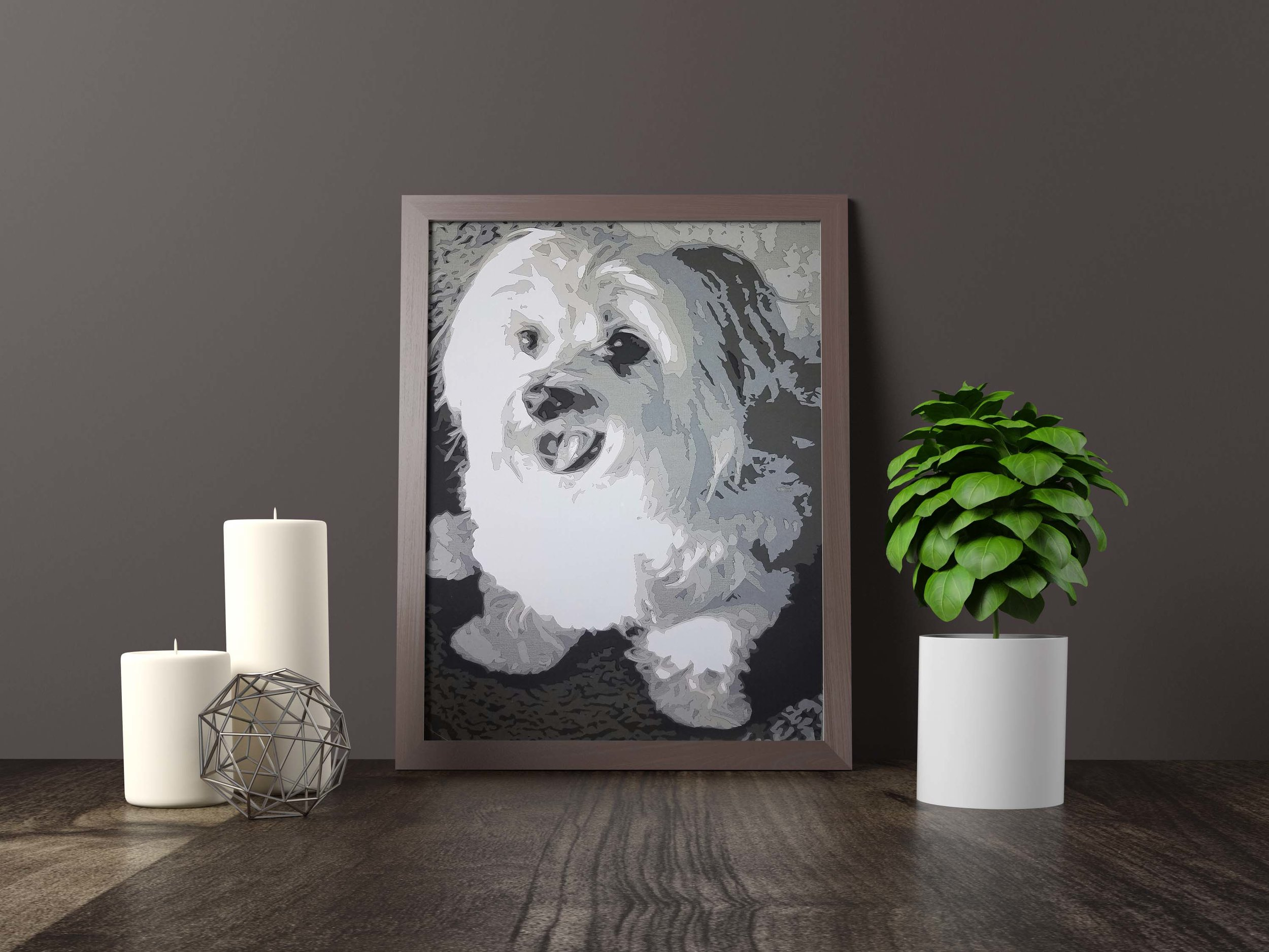 lola - maltese terrier - Private Commission *SOLD* 11