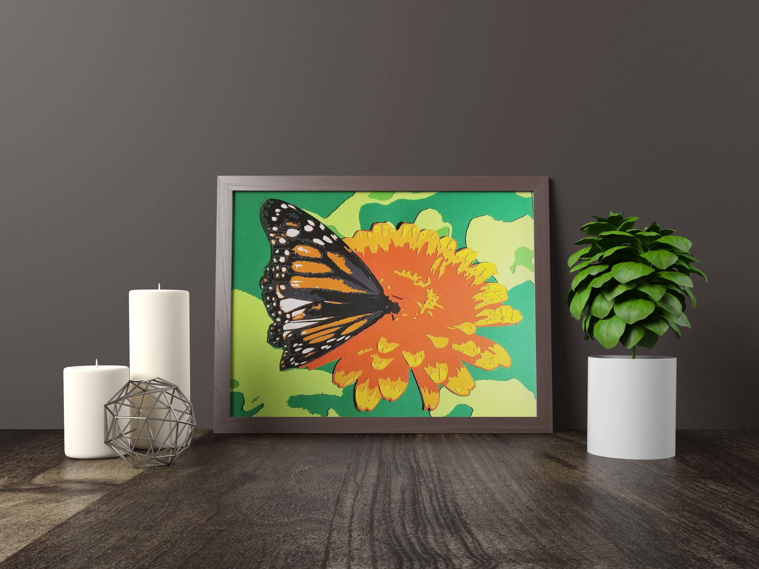 monarch butterfly - Original Artwork *FOR SALE* 11