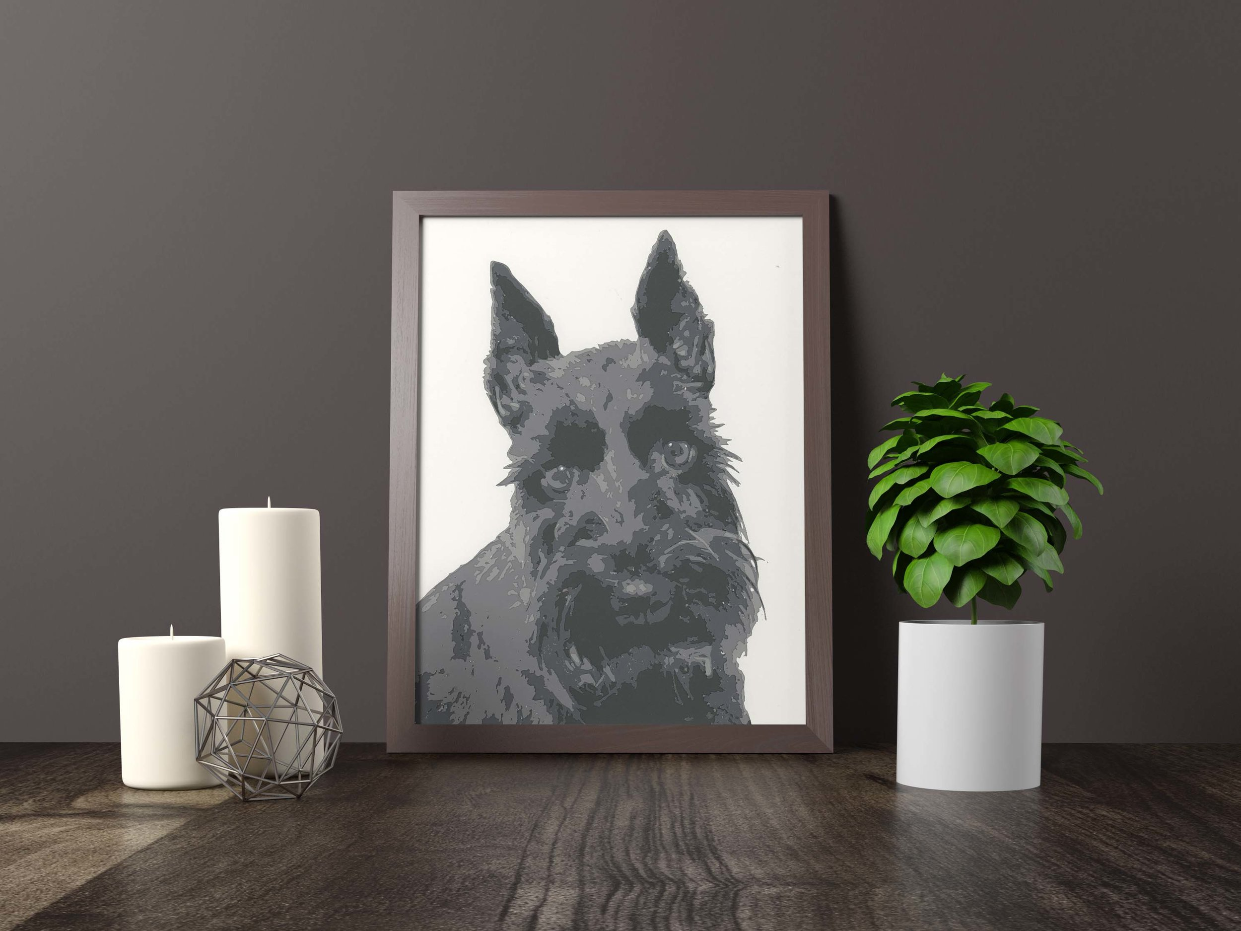 scottie dog - Private Commission *SOLD* 11