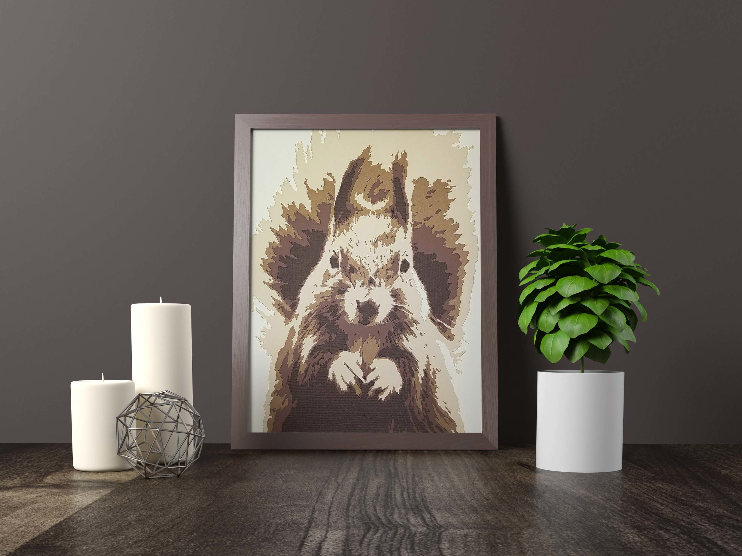 squirrel - Original Artwork *SOLD* 11