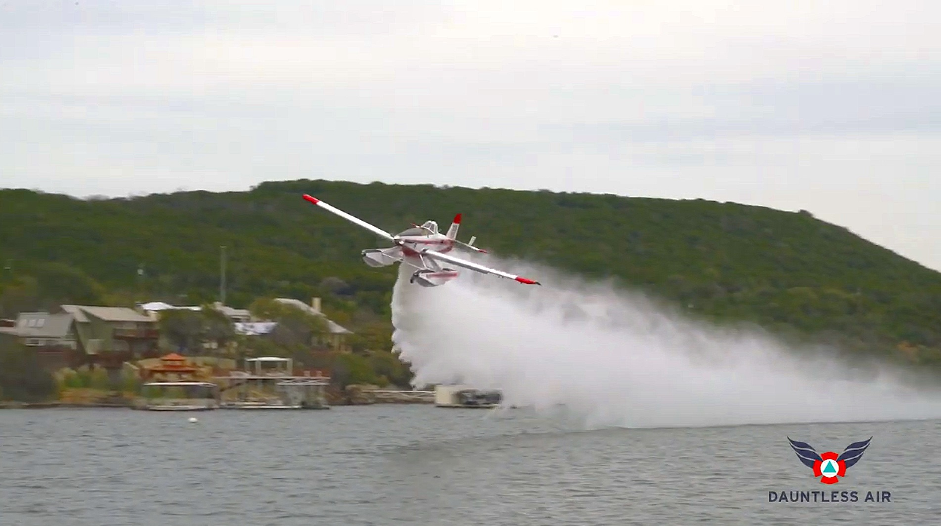Fire Boss demo: Aerial firefighting tactics for rapid initial attack on a wildfire