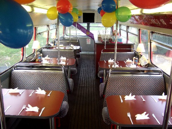 Special Occations - If you have a Birthday, special event or trade promotion then RED BUS will enhance your day. Your guests will love this Iconic London Bus and the tasty food!