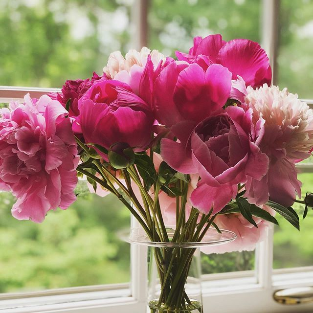 The parade of peonies continues!! I simply cannot get enough of these beauties❣️ #thesoulofstyle #peonyseason