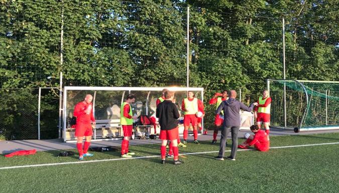 Siste formaninger fra Coach Svein før match