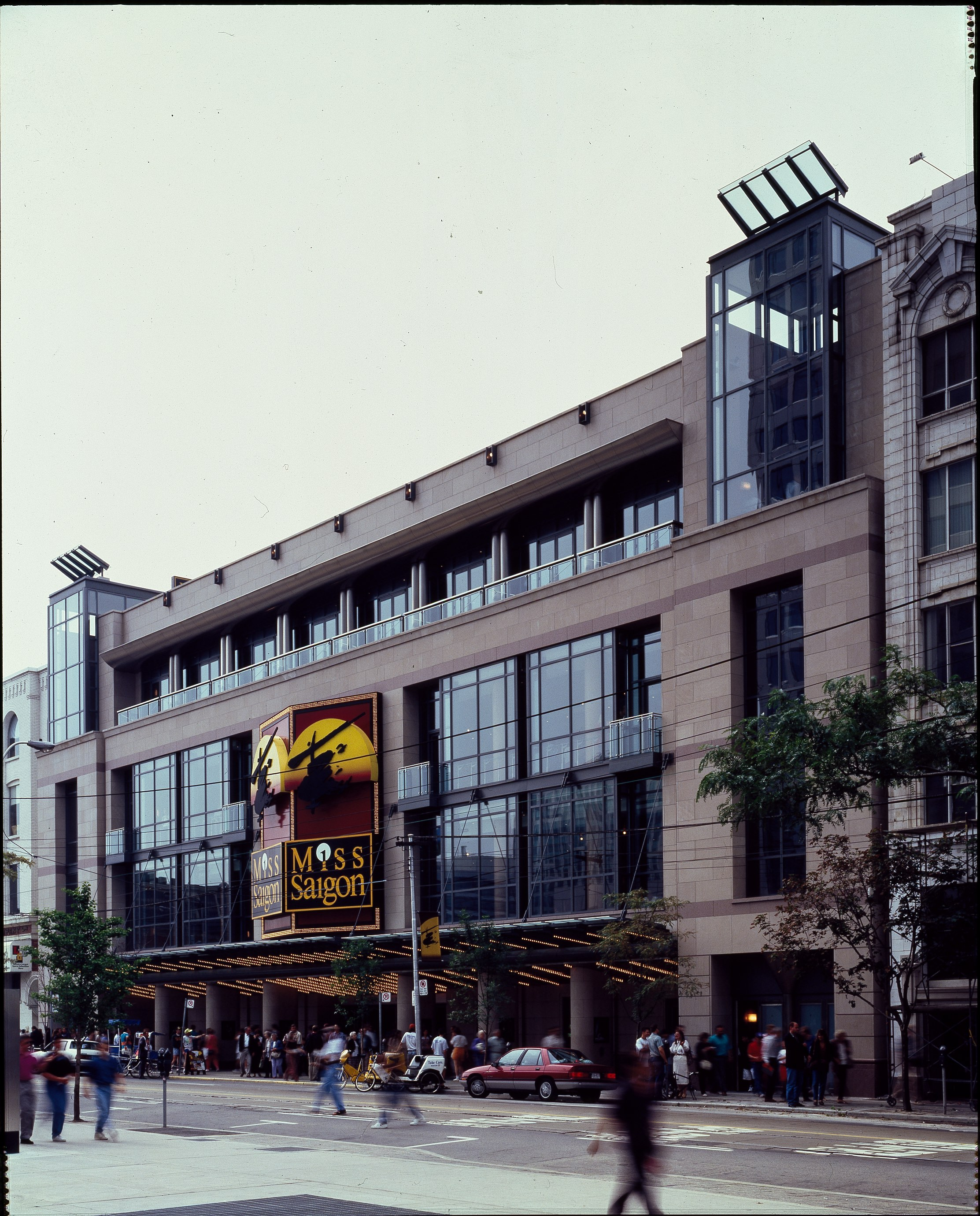 PRINCESS OF WALES THEATRE - EXTERIOR AND INTERIOR
