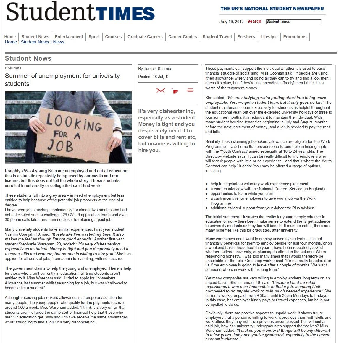 Summer of unemployment for university.jpg