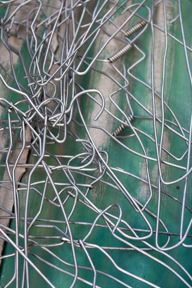 decluttering joy coat hangers