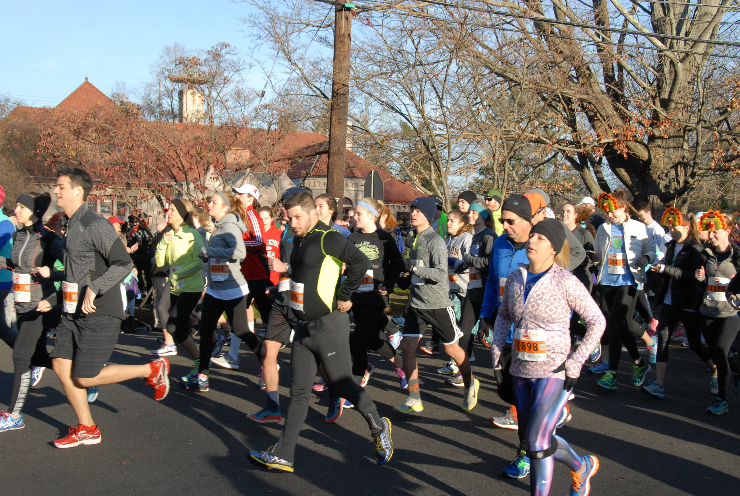 Pequot Thanksgiving Day Race 2015 Video