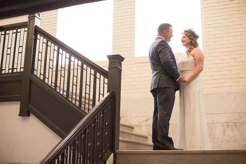 Ryan + Ann - Married in Downtown Omaha, Nebraska.