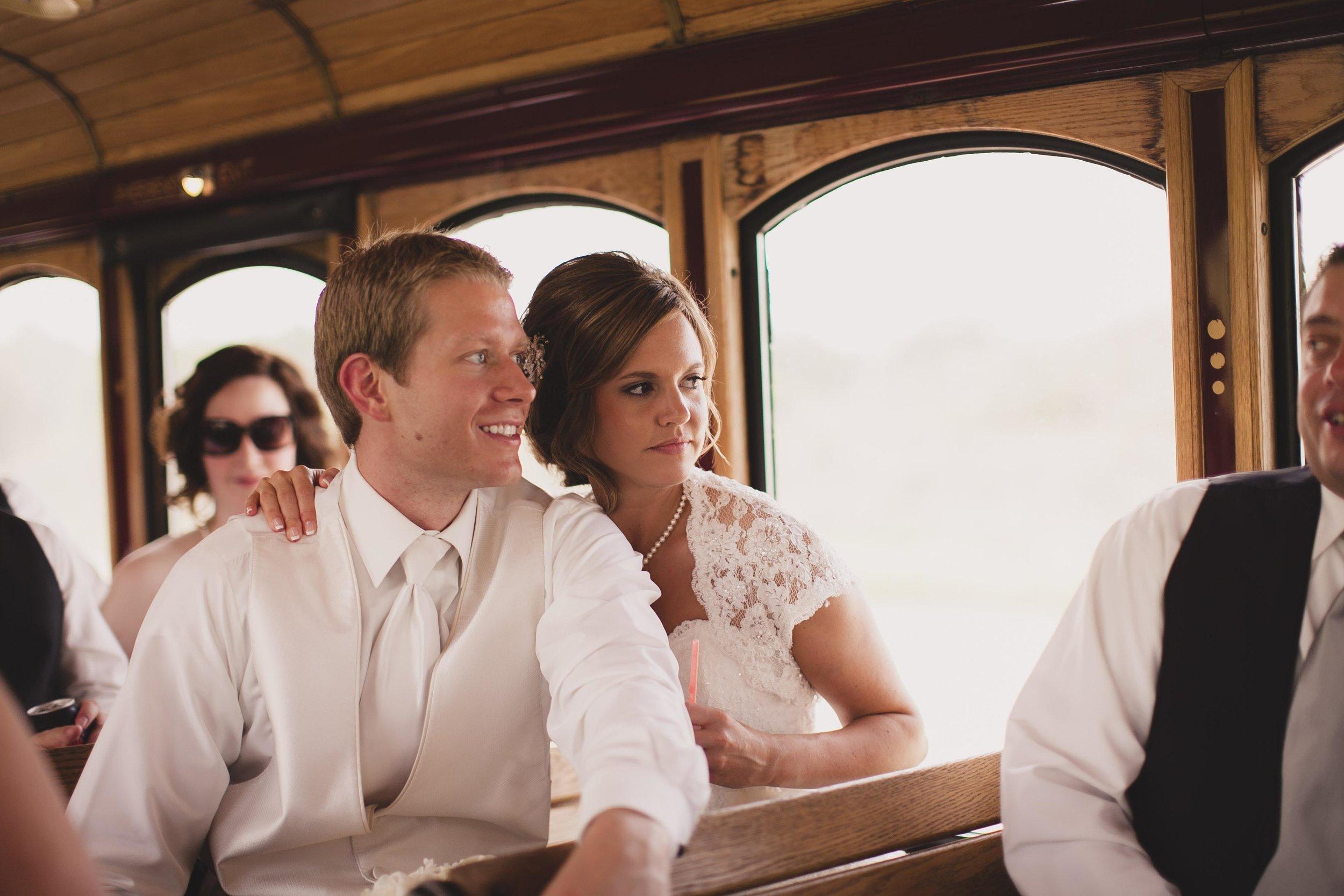 Lauren + Tanner - real omaha wedding