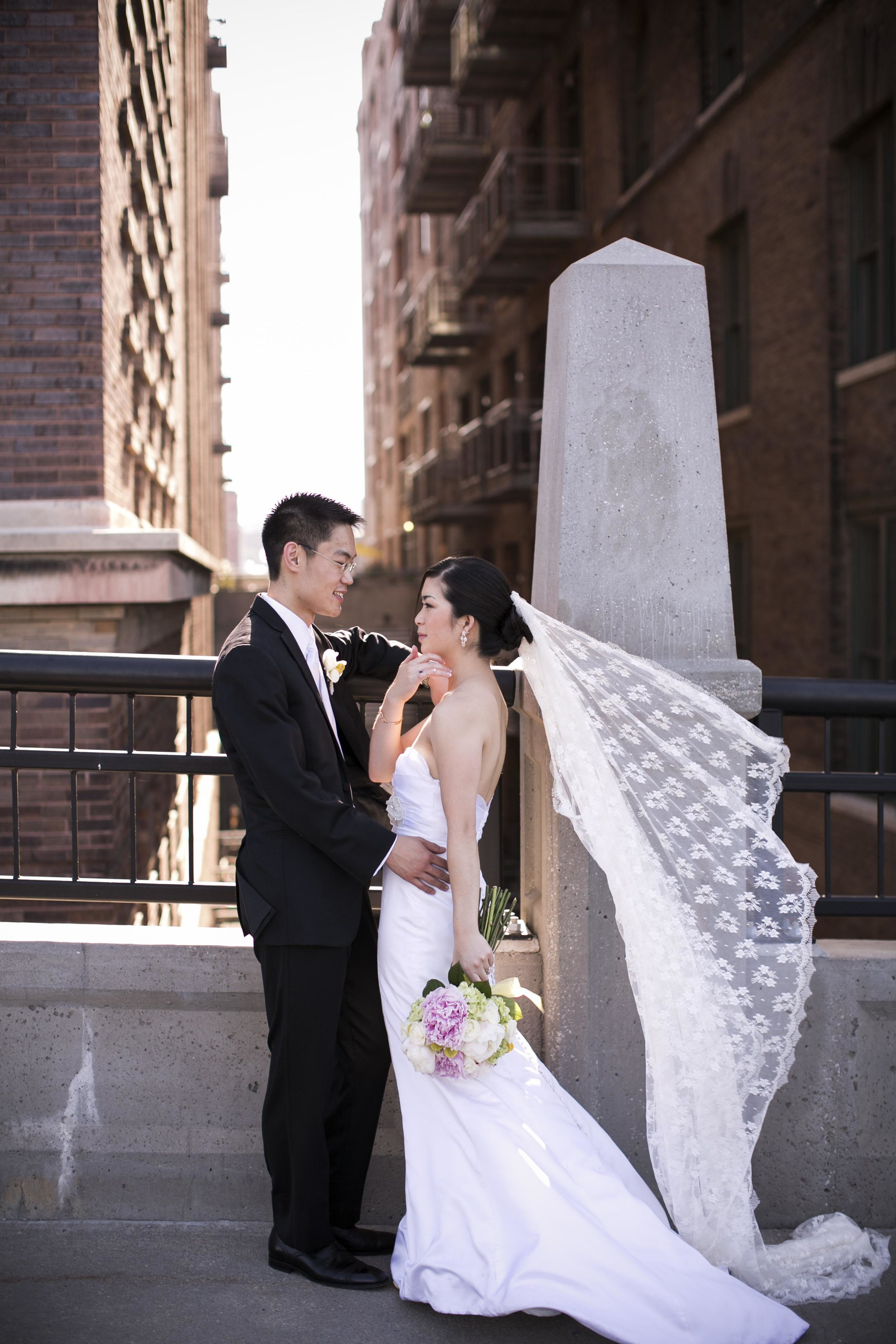 Paul + Julia - downtown omaha wedding