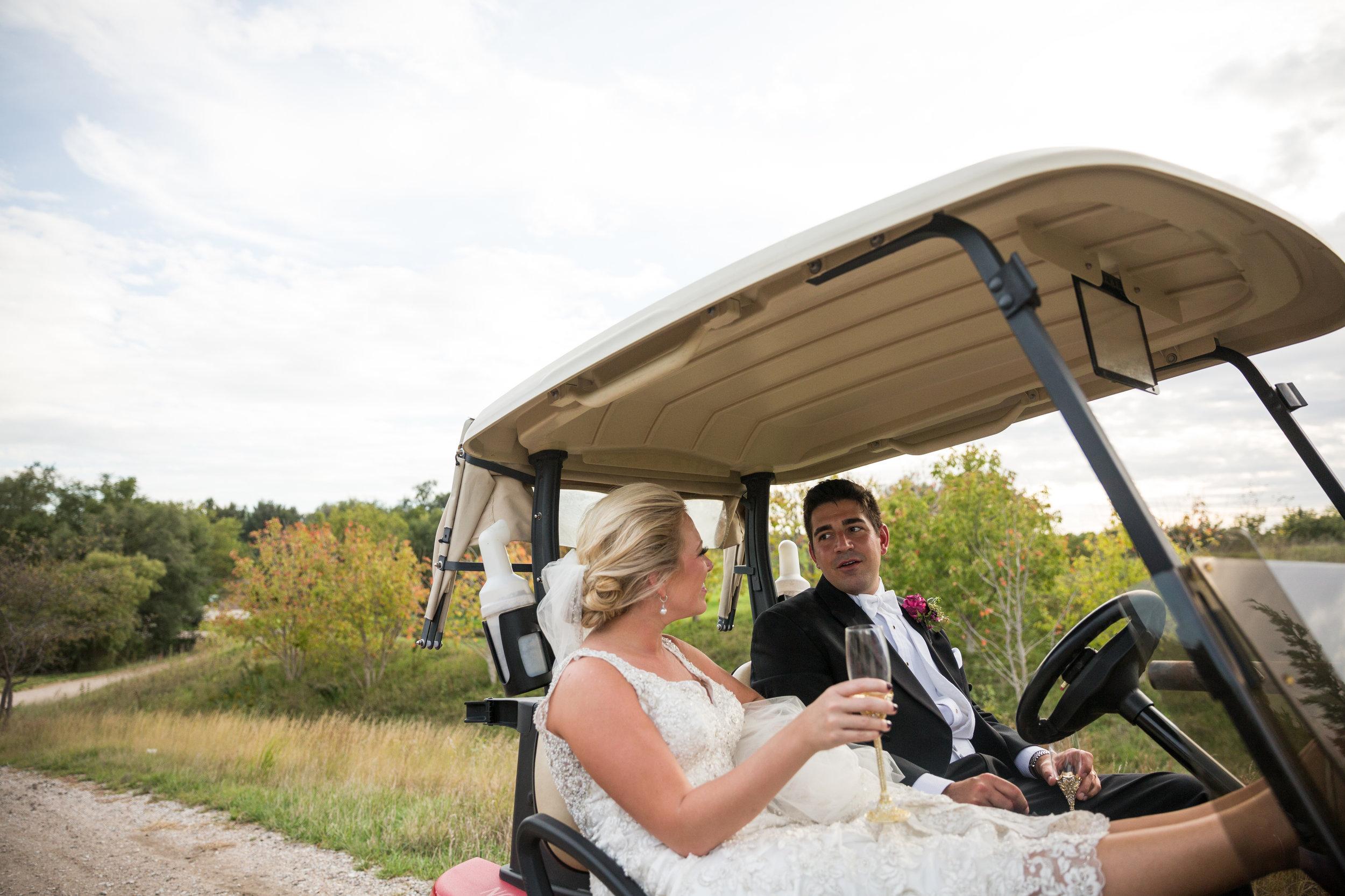 Leslie + James - Wedding goals.