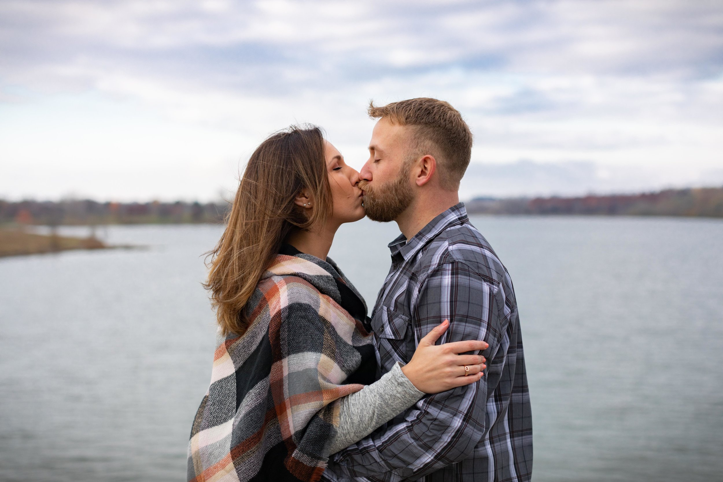 Ashley + Matt - a real engagement session