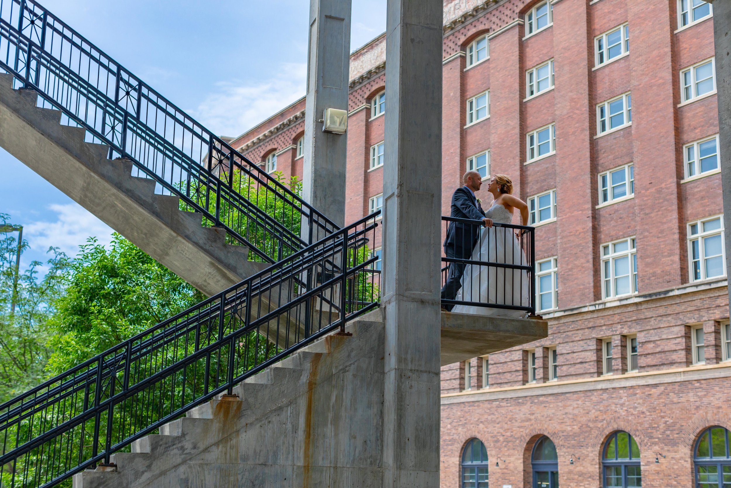 Jon + Megan - a downtown omaha wedding.